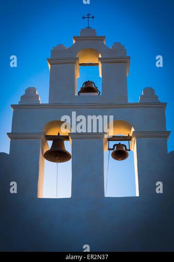 Mission San Juan Capistrano in San Antonio, Texas - Stock-Bilder