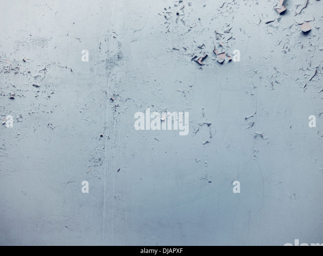 Waisted bright wall in ancient builiding - Stock Image