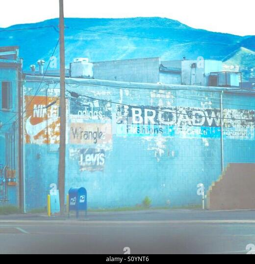 Alamagordo, New Mexico - Stock Image