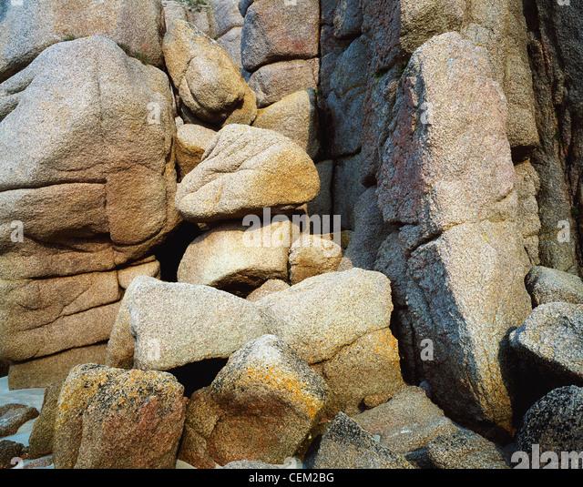 Rocks, Ireland - Stock Image