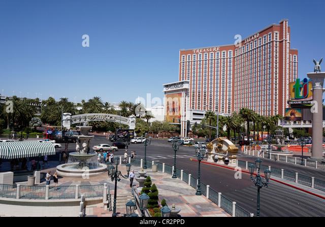 Las Vegas, Treasure Island Hotel - Stock Image