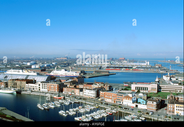 France dunkerque aerial view stock photos france dunkerque aerial view stock images alamy - Dunkirk port france address ...