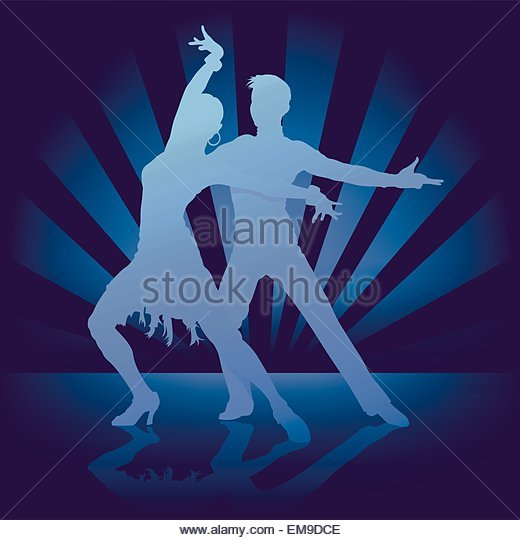 Dance Rumba - Stock Image