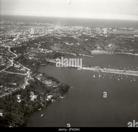 Spit Bridge - 19 Sept 1935 29975480220 o - Stock Image