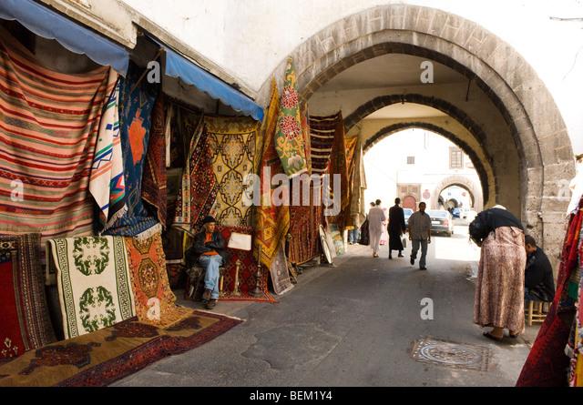Quartier Habous, Casablanca, Morocco, Africa - Stock Image