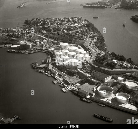 Shell Depot Gore Bay - 19 Sept 1935 30186320601 o - Stock Image