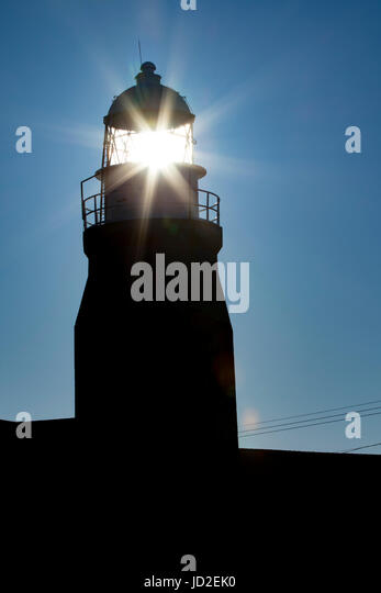 Long Point Lighthouse - Crow Head, Twillingate, Newfoundland, Canada - Stock Image