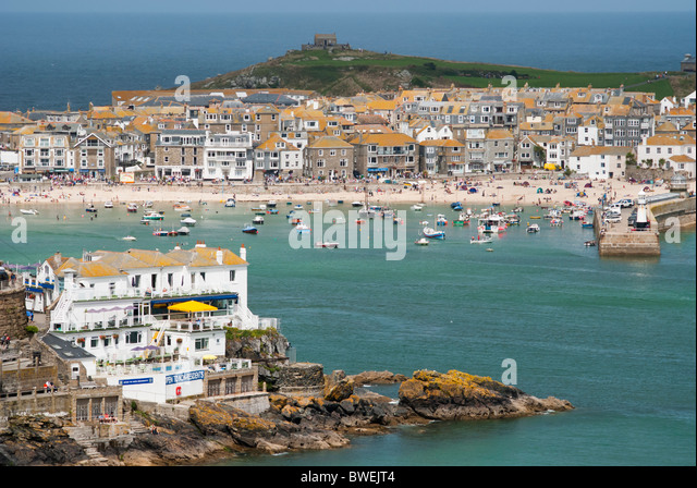 Uk ocean terrace stock photos uk ocean terrace stock for 22 the terrace st ives