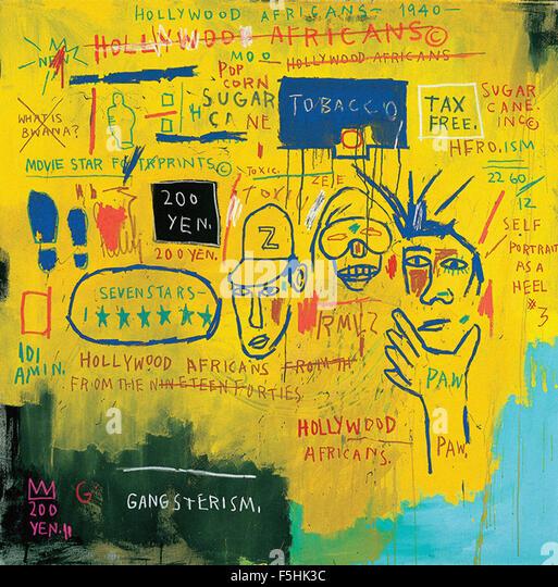 Basquiat Hollywood Africans Jean Michel Basquiat S...