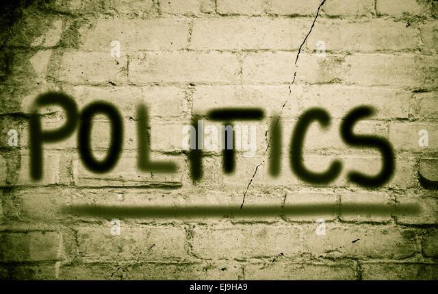 Politics Concept - Stock Image