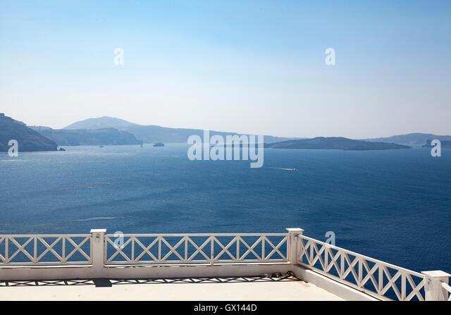 Beautiful Oia, Santorini - Stock Image