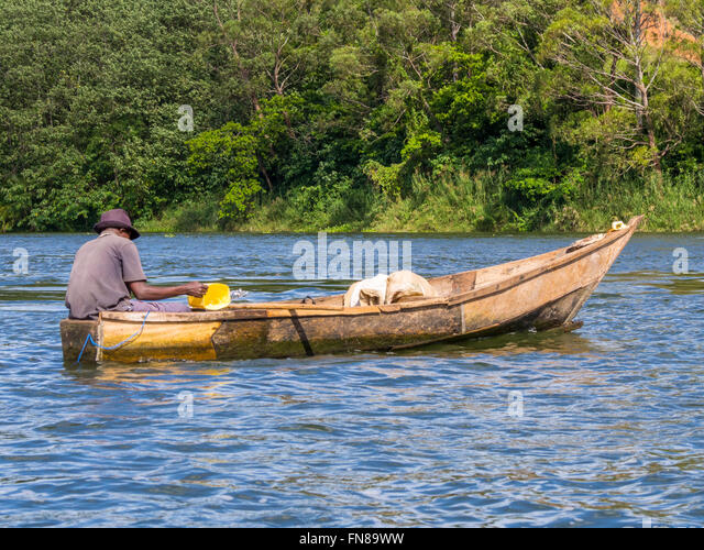 Africa lake victoria fishing stock photos africa lake for Nearest fishing lake