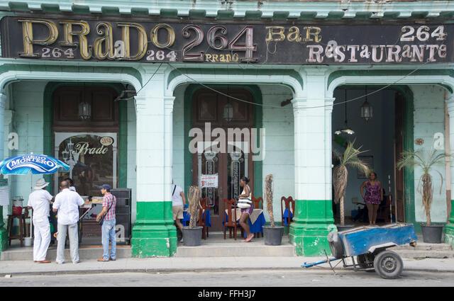 people on the street of old havana,cuba - Stock-Bilder