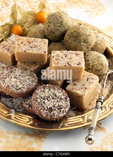 Pakistani confection - Stock Image