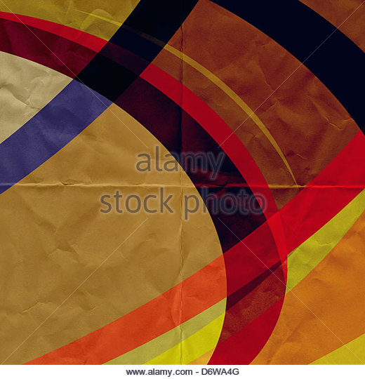 abstract paper graphic - Stock Image