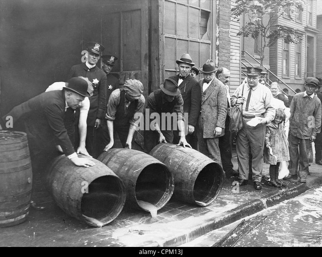 prohibition of alcohol Full answer prohibition began in 1920, a year after the 18th amendment banning alcohol was ratified on january 29, 1919 while at first it resulted in a 30 percent.