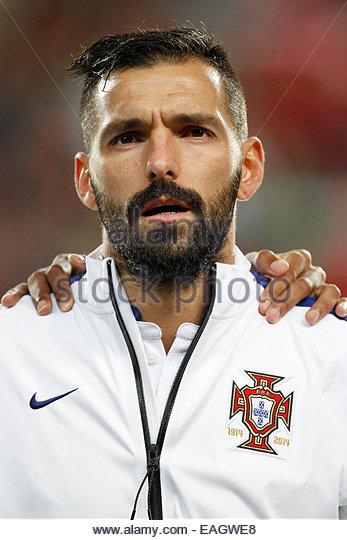Algarve, Portugal. 14th November, 2014. PORTUGAL, Faro: Portugal's midfielder Danny before the UEFA EURO 2016 - Stock Image