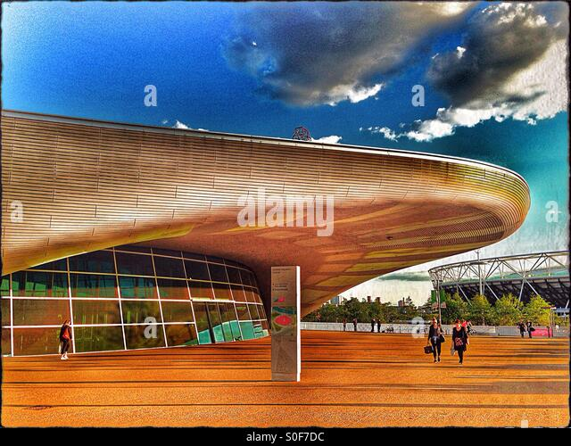 East london swimming pool stock photos east london - Queen elizabeth olympic park swimming pool ...