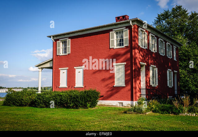 Susquehanna Museum at the Lock House, 817 Conesto Street, Havre de Grace, Maryland - Stock Image