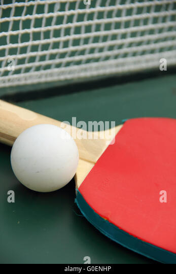 table tennis - Stock Image