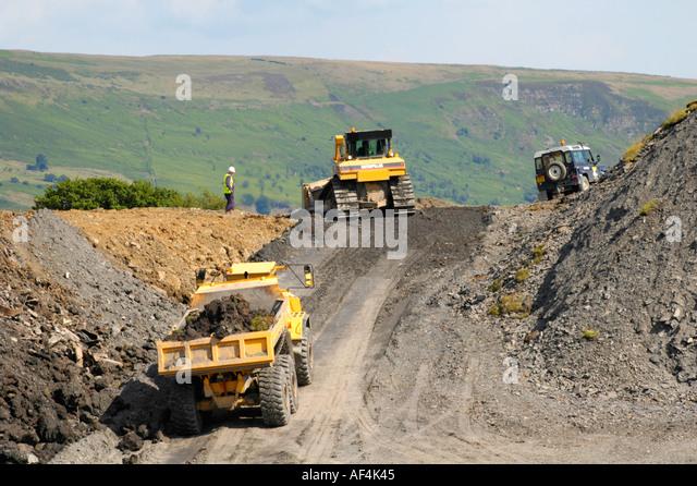 Merthyr tydfil council stock photos merthyr tydfil for Soil reclamation