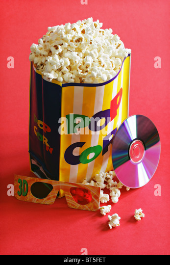 Movie night - Stock-Bilder