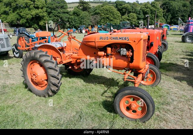 Vintage Allis Chalmers Tractors : Allis chalmers stock photos images