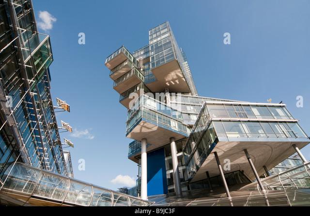 Moderne Architektur In Hannover Foto Bild: Architektur Stock Photos & Architektur Stock Images