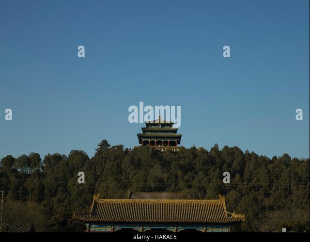 Jingshan Park in Beijing - Stock-Bilder