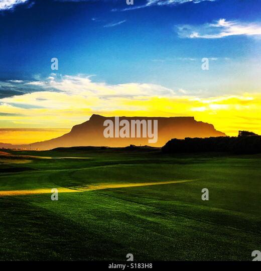 Table mountain Cape Town - Stock-Bilder