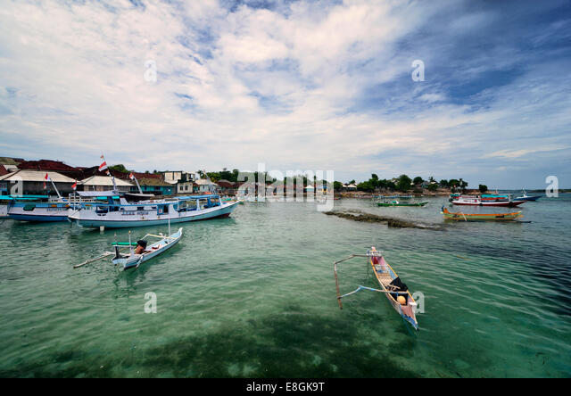 Indonesia, West Nusa Tenggara, Maringkik, Fisherman Village - Stock Image