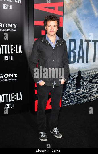 Danny Masterson at arrivals for BATTLE: LOS ANGELES Premiere, Regency Village Theater, Los Angeles, CA March 8, - Stock Image