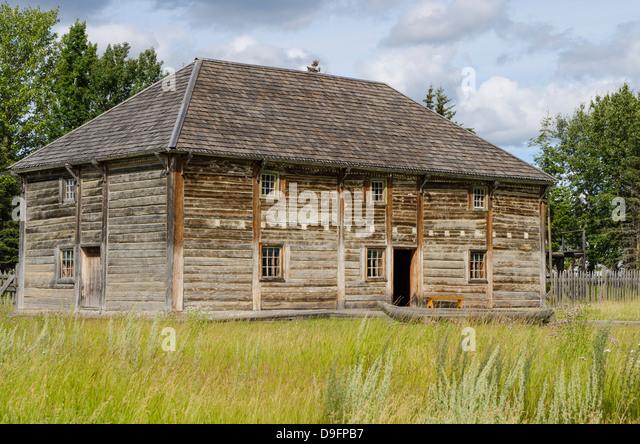 Fort Saint James National Historic Site, British Columbia, Canada - Stock-Bilder