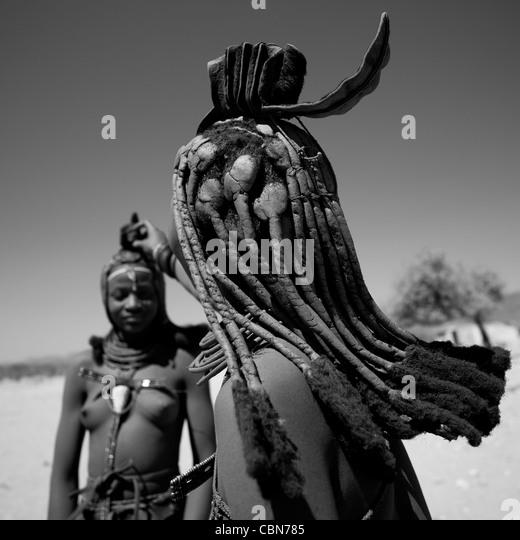 Himba Women, Angola - Stock-Bilder