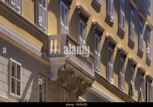 Triest Architektur Detail - Trieste architecture detail 02 - Stock-Bilder