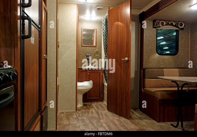 Rv Interior Stock Photos Rv Interior Stock Images Alamy