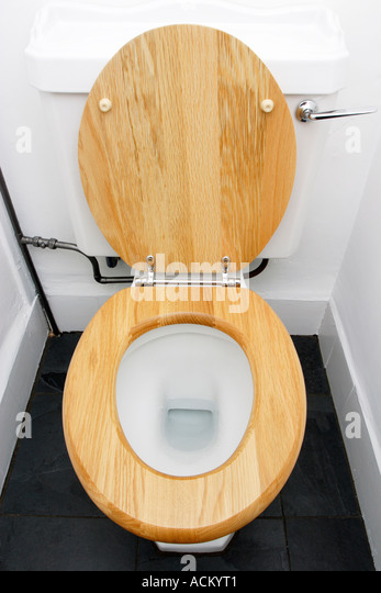Wood Toilet Seat Stock Photos Wood Toilet Seat Stock Images Alamy