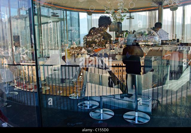 Restaurant 360 in Innsbruck, Austria - Stock-Bilder