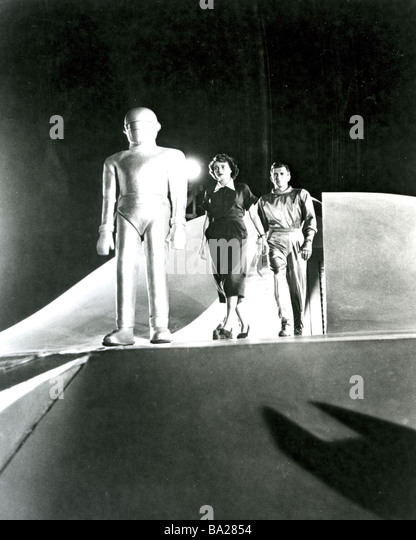 THE DAY THE EARTH STOOD STILL  1951 TCF film with Patricia Neal - Stock Image
