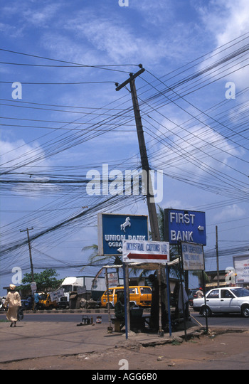 Mess Electric Wires Infrastructure Stock Photos Amp Mess