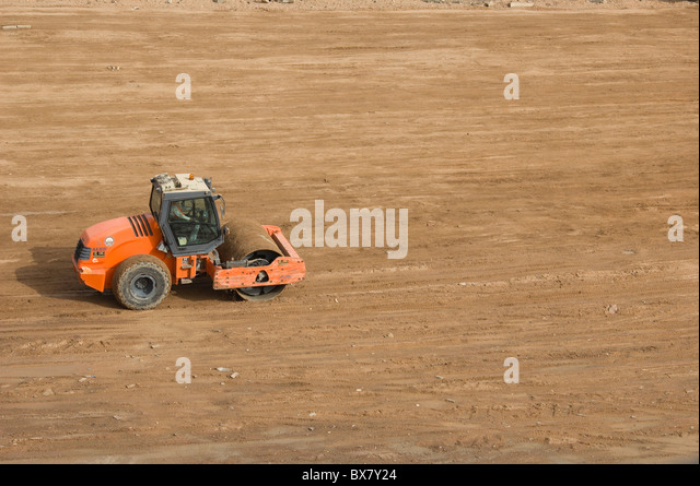 Compacting roller stock photos compacting roller stock for 98 soil compaction