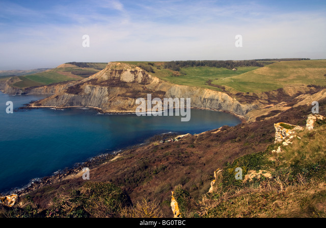 Chapman's Pool, Dorset Coast, England, United Kingdom, Europe - Stock Image