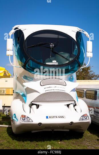 DEU, Germany, Warstein, truck designed by Luigi Colani.  DEU, Deutschland, Warstein, LKW, entworfen von Luigi Colani. - Stock-Bilder