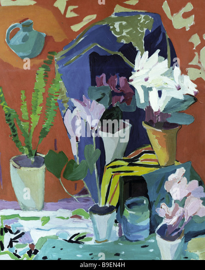 Armine Galents picture The Still Life 1965 - Stock Image
