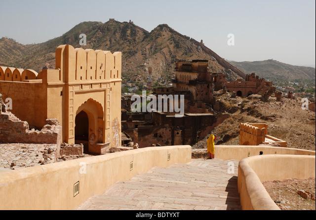 stadt jaipur in indien, asien, city in india, asia - Stock-Bilder