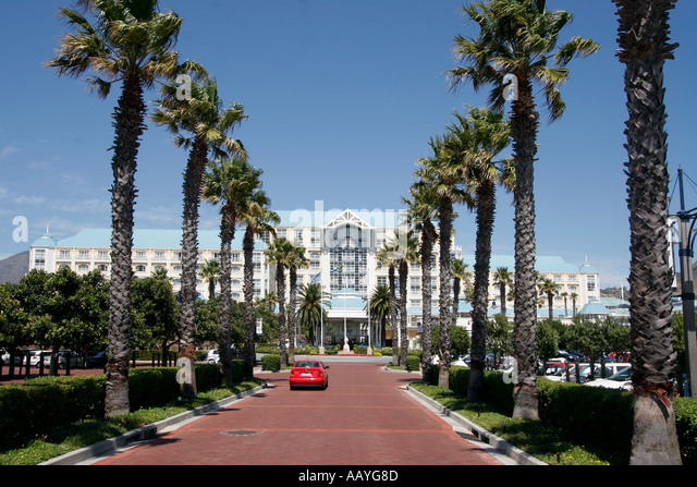 south africa cape town Victoria Albert waterfront table bay hotel - Stock Image