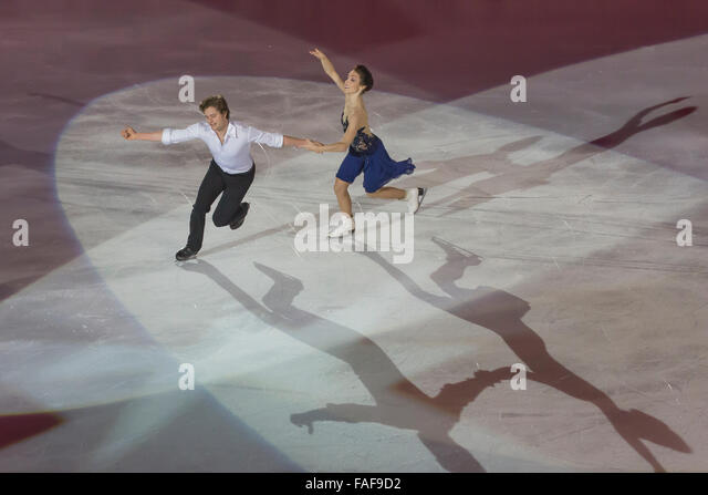 Meryl Davis e Charlie White free dance champions - Stock Image