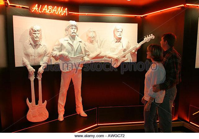 Alabama Tuscumbia Alabama Music Hall of Fame - Stock Image