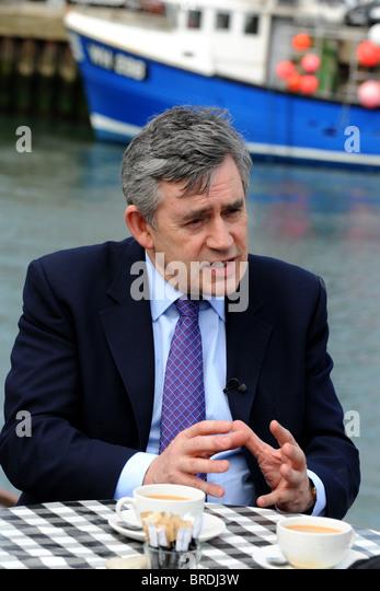 Gordon Brown MP, former 'Prime Minister' of Great Britain, UK - Stock Image