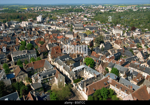 Bourges france aerial stock photos bourges france aerial stock images alamy - Stock industriel bourges ...